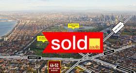 Development / Land commercial property sold at 46-52 St Kilda Road St Kilda VIC 3182