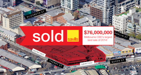 Development / Land commercial property sold at Corner Queen & Therry Streets Melbourne VIC 3000