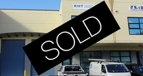 Factory, Warehouse & Industrial commercial property sold at B8/15 Forrester Street Kingsgrove NSW 2208