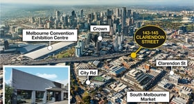 Development / Land commercial property sold at 143-145  Clarendon Street Southbank VIC 3006