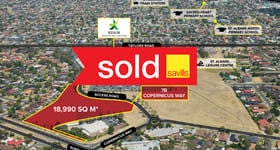 Showrooms / Bulky Goods commercial property sold at 7B Copernicus Way Keilor Downs VIC 3038