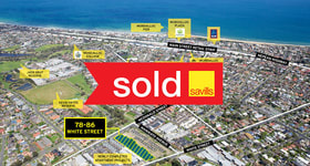 Development / Land commercial property sold at 78-86 White Street Mordialloc VIC 3195