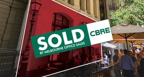 Medical / Consulting commercial property sold at Ground Floor, 2-10 Bank Place Melbourne VIC 3000