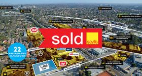 Development / Land commercial property sold at 22 Blackburn Road Blackburn VIC 3130