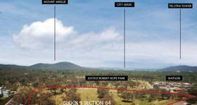 Development / Land commercial property sold at Block 9 Section 64 Watson ACT 2602