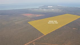 Development / Land commercial property for sale at Lot 43 Broome  Road Broome WA 6725