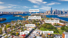 Shop & Retail commercial property sold at 239 Darling Street Balmain NSW 2041