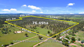 Rural / Farming commercial property for sale at 202-284 Kuss Road Lanefield QLD 4340