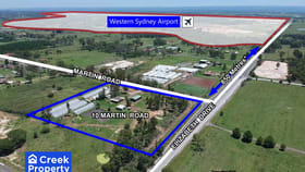 Industrial / Warehouse commercial property for lease at 10 Martin Road Badgerys Creek NSW 2555
