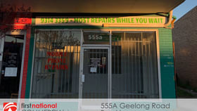 Shop & Retail commercial property for lease at 555A Geelong Road Brooklyn VIC 3012