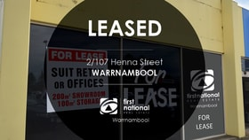 Offices commercial property for lease at 2/107 Henna Street Warrnambool VIC 3280