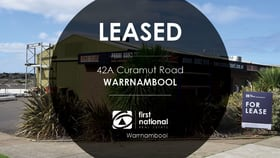 Showrooms / Bulky Goods commercial property for lease at 42A Caramut Road Warrnambool VIC 3280