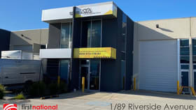 Factory, Warehouse & Industrial commercial property for lease at 1/89 Riverside Avenue Werribee VIC 3030