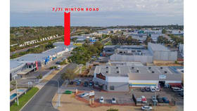 Factory, Warehouse & Industrial commercial property for lease at 7/71 Winton Road Joondalup WA 6027