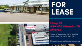 Shop & Retail commercial property for lease at 8B/446-454 Marmion Street Myaree WA 6154