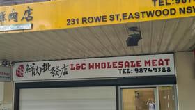 Shop & Retail commercial property for lease at 231 Rowe St Eastwood NSW 2122