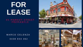 Hotel, Motel, Pub & Leisure commercial property for lease at 85 Market Street Fremantle WA 6160