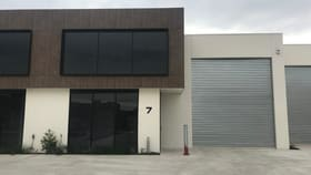 Factory, Warehouse & Industrial commercial property for lease at 7/7-13 Ponting Street Williamstown VIC 3016