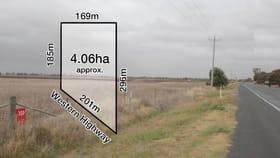 Development / Land commercial property sold at 9122 Western Highway Horsham VIC 3400