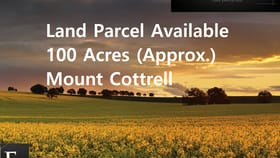 Development / Land commercial property for sale at Mount Cottrell VIC 3024