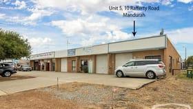 Factory, Warehouse & Industrial commercial property sold at 5/10 Rafferty Road Mandurah WA 6210