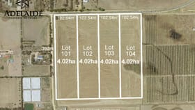 Development / Land commercial property for sale at 46 Gawler River Road & Tower Road Lewiston SA 5501