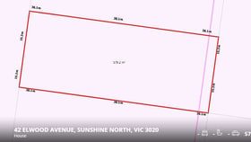 Development / Land commercial property for sale at 42 Elwood Avenue Sunshine North VIC 3020