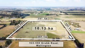 Development / Land commercial property for sale at 522-550 Grubb Road. Wallington VIC 3222