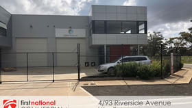 Factory, Warehouse & Industrial commercial property for lease at 4/93 Riverside  Avenue Werribee VIC 3030
