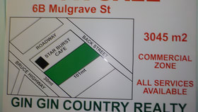 Development / Land commercial property for sale at 6 B MULGRAVE ST Gin Gin QLD 4671
