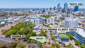 Development / Land commercial property for sale at 24 Prowse Street West Perth WA 6005