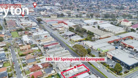 Showrooms / Bulky Goods commercial property for sale at 185 - 187 Springvale Road Springvale VIC 3171
