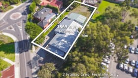 Development / Land commercial property for sale at 2 Francis Crescent Ferntree Gully VIC 3156