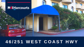 Shop & Retail commercial property sold at 46/251 West Coast Highway Scarborough WA 6019