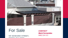 Hotel / Leisure commercial property for sale at 101 Edward Street Perth WA 6000