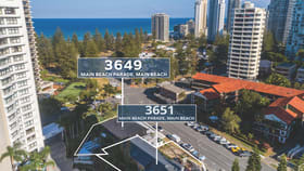 Development / Land commercial property for sale at 3649 Main Beach Parade Main Beach QLD 4217