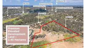 Development / Land commercial property for sale at Lot A/35 Herberts Lane Diamond Creek VIC 3089
