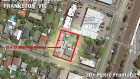 Development / Land commercial property for sale at 35 & 37 Sheridan Avenue Frankston VIC 3199