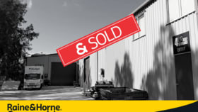 Factory, Warehouse & Industrial commercial property sold at 8 Bilinga Rd Kincumber NSW 2251