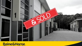 Factory, Warehouse & Industrial commercial property sold at Unit 16 / 44 Nells Road West Gosford NSW 2250