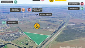 Development / Land commercial property for sale at 120 Moore Road Sunbury VIC 3429