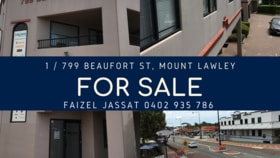 Offices commercial property for sale at 1/799 Beaufort Street Mount Lawley WA 6050