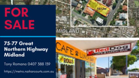 Offices commercial property for sale at 75-77 Great Northern Highway Midland WA 6056