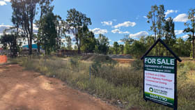 Development / Land commercial property sold at 23 - 35 Warrego Highway Chinchilla QLD 4413