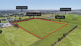 Development / Land commercial property for sale at Cnr Peterbough & Depot Road Terang VIC 3264