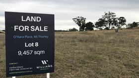 Development / Land commercial property sold at Lot 8 O'Hara Place Mount Thorley NSW 2330