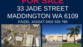 Development / Land commercial property for sale at 33 Jade Street Maddington WA 6109