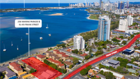 Development / Land commercial property for sale at 256 Marine Parade &  91-95 Frank Street Labrador QLD 4215