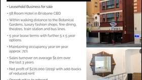 Hotel, Motel, Pub & Leisure commercial property for sale at Brisbane City QLD 4000