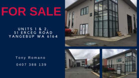 Factory, Warehouse & Industrial commercial property for sale at 1 & 2/51 Erceg Road Yangebup WA 6164